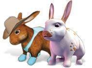 101любимчик. Пушистые зайчата - Присматриваем за милым виртуальным зайчиком.